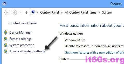 Tùy chỉnh Windows 8 để đạt hiệu suất tốt nhất
