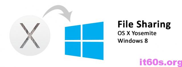 Chia sẻ dữ liệu trên Mac OS X Yosemite cho Windows 8