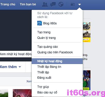 Bạn có biết kiểm soát các hoạt động trên facebook