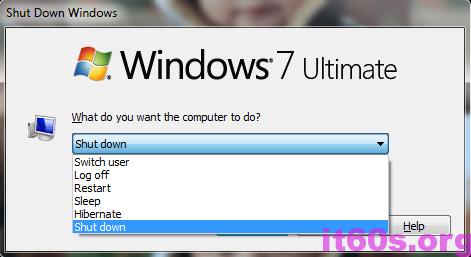 Thủ thuật giảm thời gian tắt của windows 7