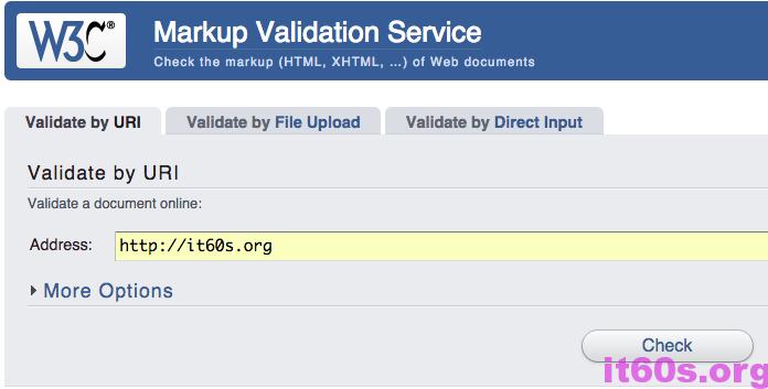 Cách kiểm tra website của bạn có đúng chuẩn W3C hay không