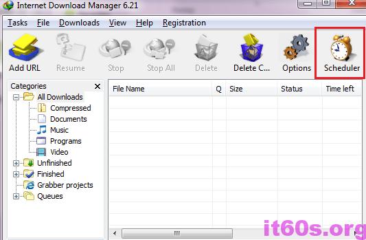 Cách cấu hình IDM khi tải file xong sẽ tự động tắt máy