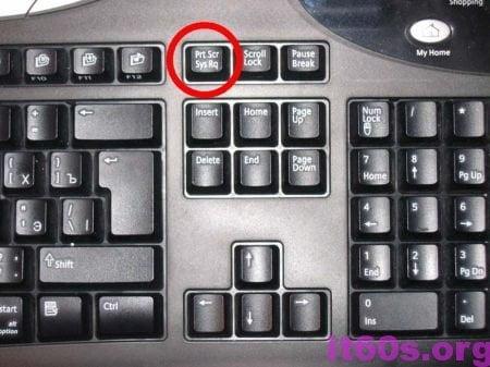 Chụp ảnh màn hình máy tính không sử dụng ứng dụng