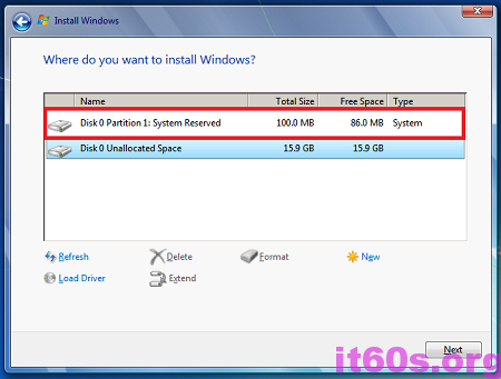 Thủ thuật khắc phục lỗi 0x80070057 khi cài Windows 7