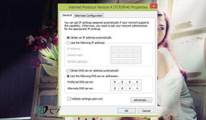 Hướng dẫn cấu hình DNS trên các phiên bản Windows mới nhất 8