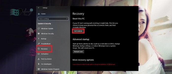 Cách Reset Windows 10 về trạng thái ban đầu đơn giản nhất 3