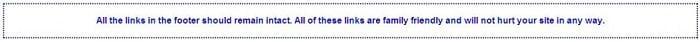 Cách loại bỏ dòng bản quyền dưới chân trang một số theme miễn phí 2