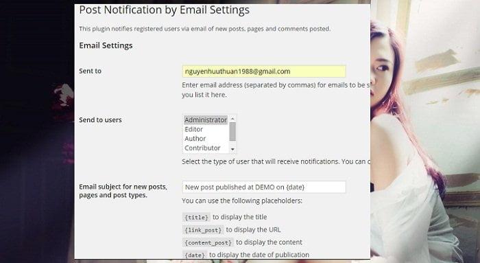 Cách tự động gửi bài viết mới qua Email cho người dùng 8