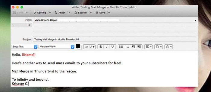 """""""Bá đạo"""" với cách gửi Email hàng loạt bằng Mozilla Thunderbird 6"""