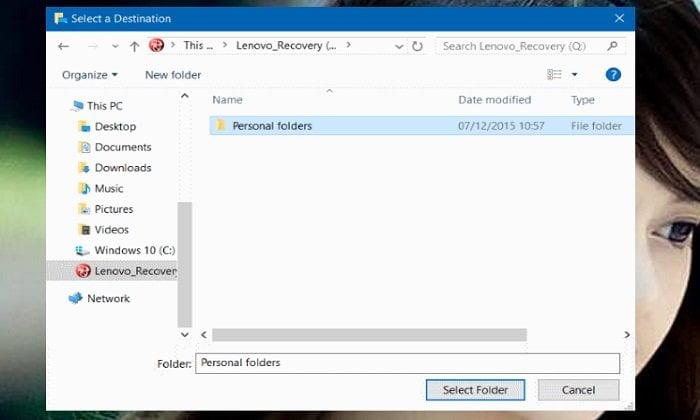 Cách lưu dữ liệu ở Desktop không bị mất khi cài lại Windows 4