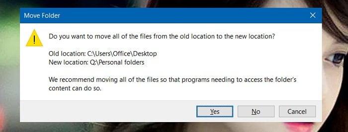 Cách lưu dữ liệu ở Desktop không bị mất khi cài lại Windows 5