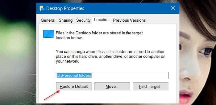 Cách lưu dữ liệu ở Desktop không bị mất khi cài lại Windows