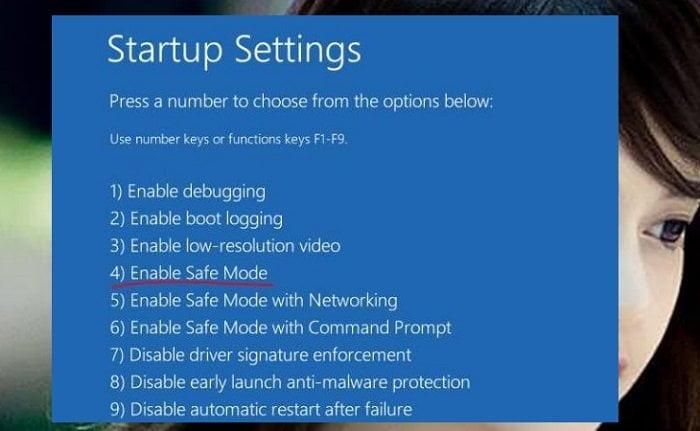 Cách vào chế độ Safe Mode (chế độ an toàn) trên windows 10 7