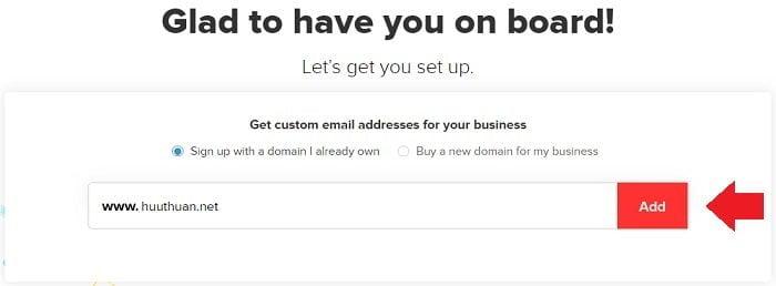Cách tạo Email theo địa chỉ tên miền miễn phí từ Zoho 2