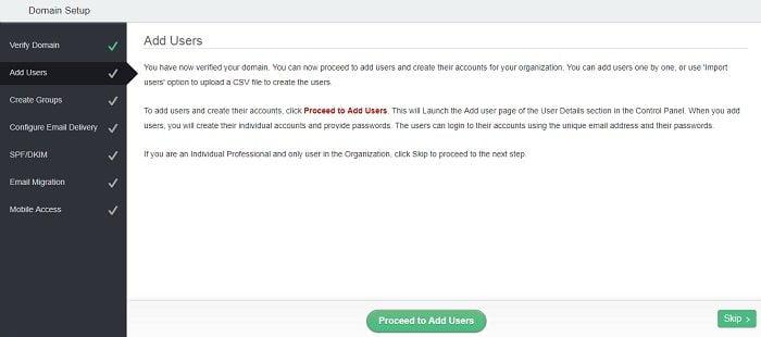 Cách tạo Email theo địa chỉ tên miền miễn phí từ Zoho 12