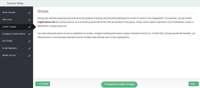 Cách tạo Email theo địa chỉ tên miền miễn phí từ Zoho 13