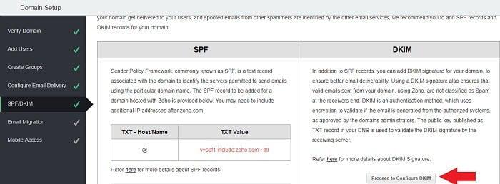 Cách tạo Email theo địa chỉ tên miền miễn phí từ Zoho 15