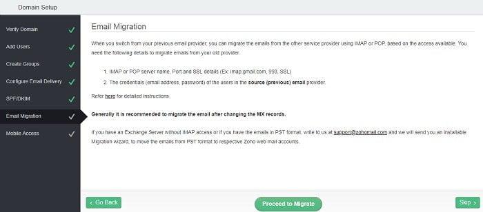 Cách tạo Email theo địa chỉ tên miền miễn phí từ Zoho 19