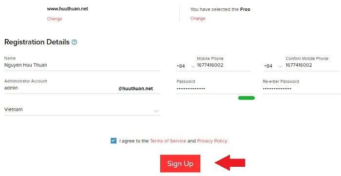 Cách tạo Email theo địa chỉ tên miền miễn phí từ Zoho 3