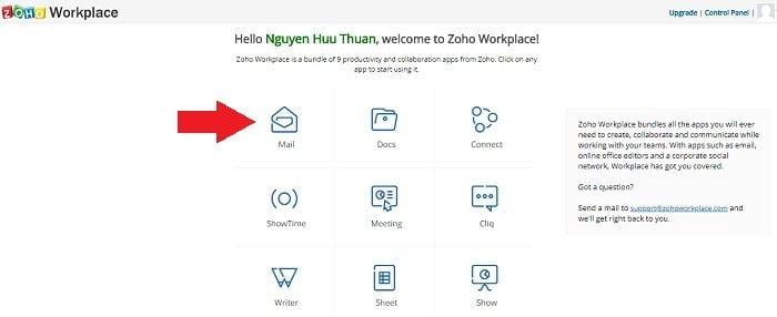Cách tạo Email theo địa chỉ tên miền miễn phí từ Zoho 21