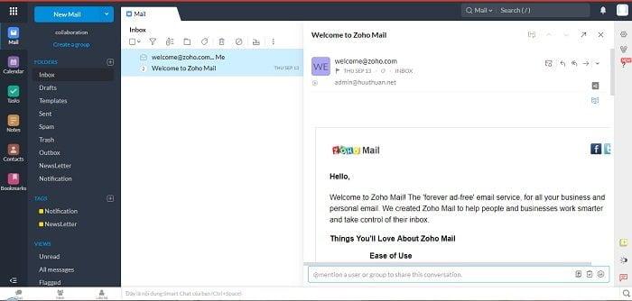 Cách tạo Email theo địa chỉ tên miền miễn phí từ Zoho 22