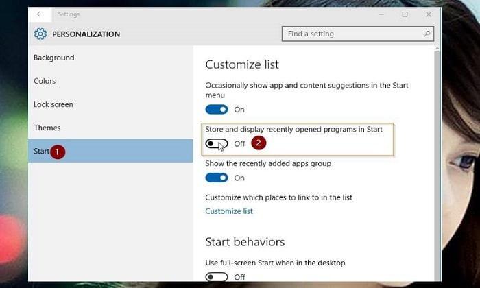 Cách đơn giản để tùy biến Start Menu của Windows 10 4