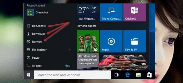 Cách đơn giản để tùy biến Start Menu của Windows 10 7