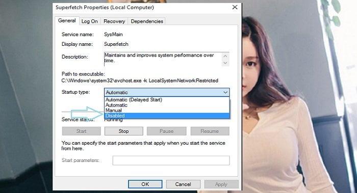 Hướng dẫn sửa lỗi Full Disk 100% trên windows 10 3
