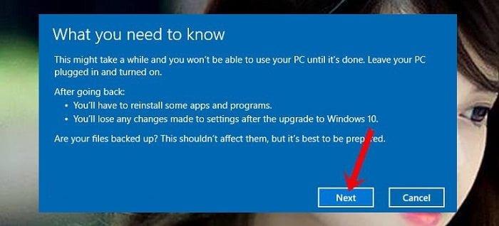 """Cách """"Hạ Bệ"""" Windows 10 xuống Windows 7 hoặc 8 đơn giản 3"""