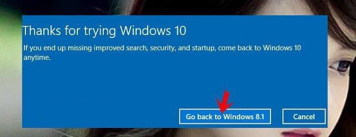 """Cách """"Hạ Bệ"""" Windows 10 xuống Windows 7 hoặc 8 đơn giản 5"""