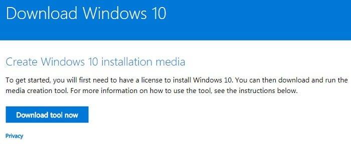 """Cách nâng cấp lên Windows 10 khi """"Windows update"""" không hoạt động"""