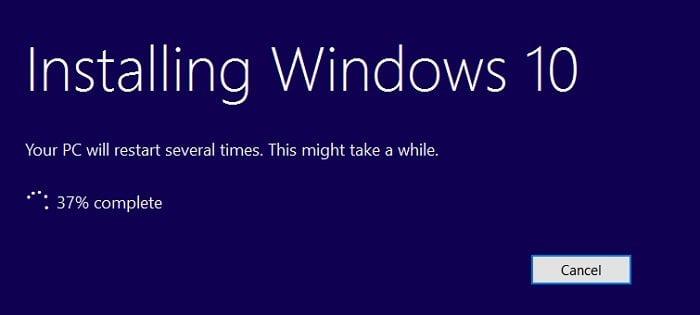 """Cách nâng cấp lên Windows 10 khi """"Windows update"""" không hoạt động 9"""