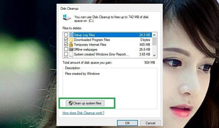 """Cách khắc phục lỗi """"Your Computer Is Low On Memory"""" trên máy tính 10"""