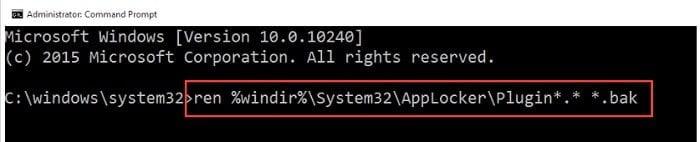 Cách sửa chữa Menu Start và Cortana không làm việc trên windows 10 4