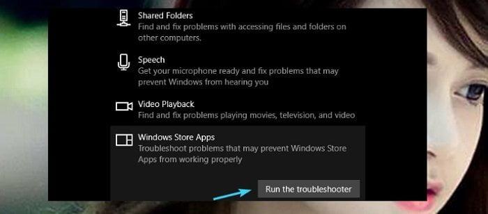 """Cách sửa lỗi """"0x803F7003"""" trong Store Windows 10 khi tải Apps 8"""