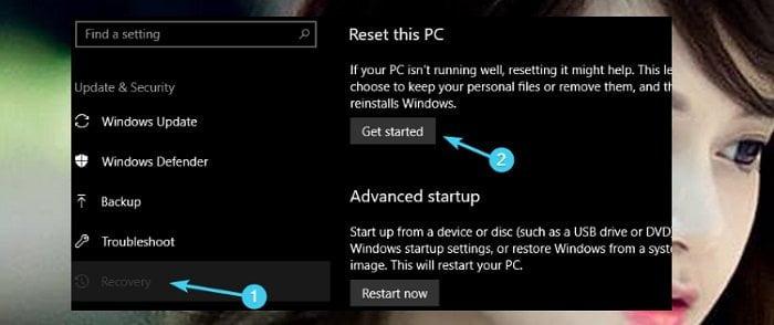 """Cách sửa lỗi """"0x803F7003"""" trong Store Windows 10 khi tải Apps 10"""