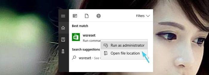 """Cách sửa lỗi """"0x803F7003"""" trong Store Windows 10 khi tải Apps"""