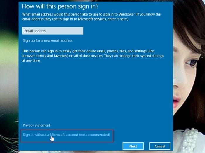 Cách tạo Local User (tài khoản phụ) trong windows 10 đơn giản 3