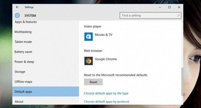 Cách thay đổi trình duyệt mặc định trên windows 10 4