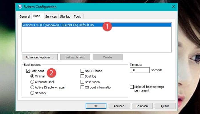 Cách vào chế độ Safe Mode (chế độ an toàn) trên windows 10 1