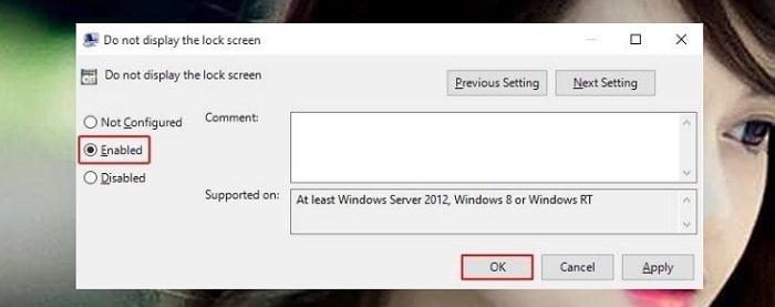 Cách vô hiệu hóa màn hình Lock Screen trên Windows 10 3