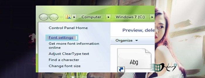 Khắc phục lỗi Font chữ in đậm và nghiêng trong windows 2