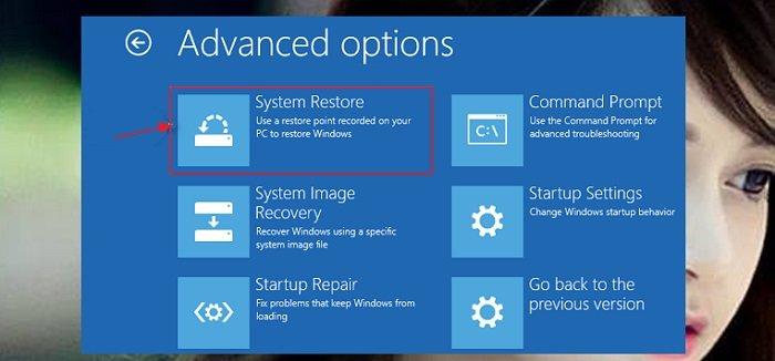 """Cách phục hồi hệ thống """"System Restore"""" trên windows 10 2"""