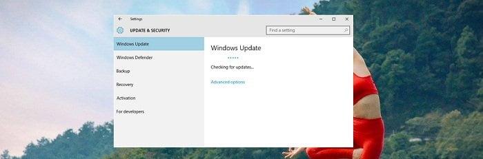 Kích hoạt các tiến trình hữu ích trên windows 10 update 12