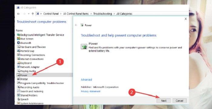 Khắc phục lỗi Sleep không hoạt động trên windows 10 1
