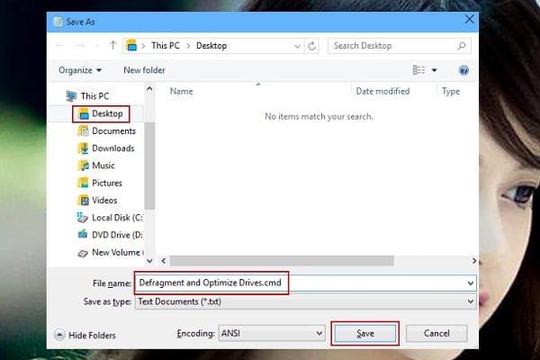 Cách tạo shortcode chống phân mảnh và tối ưu trên windows 10 6