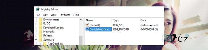 Vô hiệu tính năng thông báo Action Center trong Windows 10 6