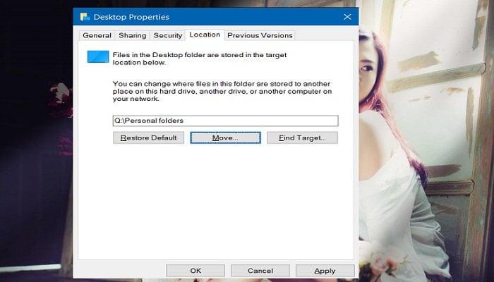 Cách di chuyển thư mục Downloads & Documents trong Windows 10 4