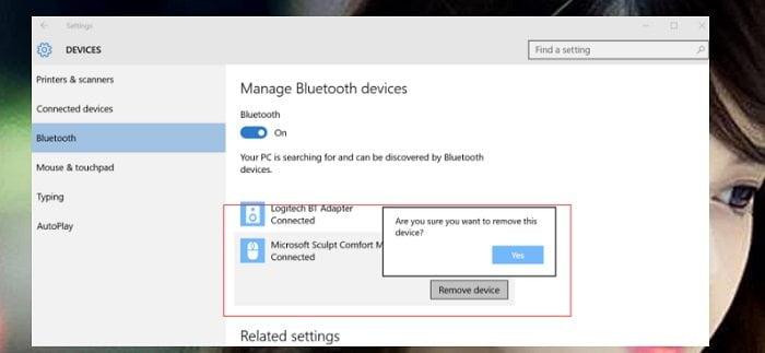 Cách sửa lỗi Bluetooth không làm việc trong Windows 10 3