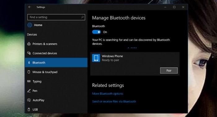 Cách sửa lỗi Bluetooth không làm việc trong Windows 10